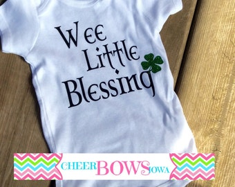 Wee Little Blessing Onesie