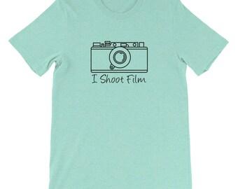 Leica-inspired I Shoot Film T-Shirt