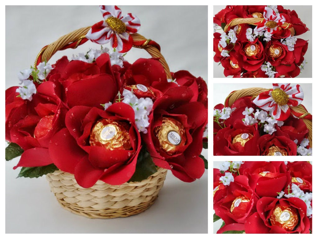 How To Make Ferrero Rocher Bouquet Flower Images - Flower Wallpaper HD