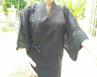 Japanese Haori Jacket / Woman Kimono