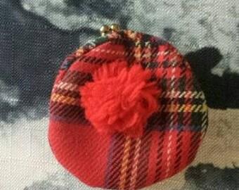 Scottish Tartan Coin Purse