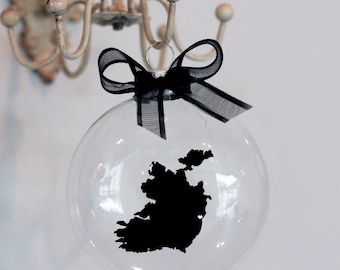 Ireland Christmas Ornament, Custom, Adoption, Travel