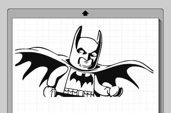 batman lego character cameo silhouette file