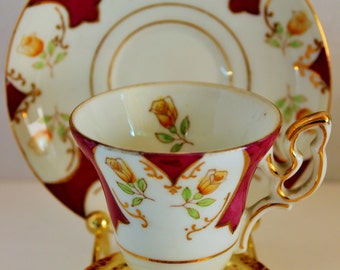 Vintage UC AG China Co. Cup & Saucer