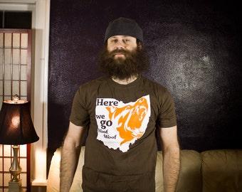 Cleveland woof t-shirt