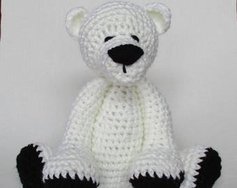 Crochet Polar Bear SUPER SOFT