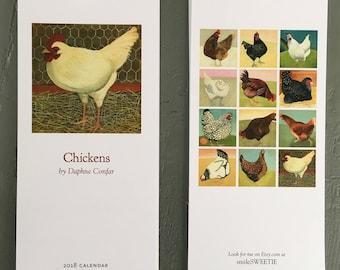 Chicken Calendar 2018