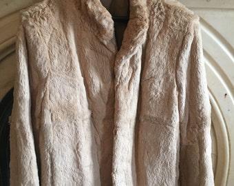 SHOP CLOSING SALE! Beautiful vintage fur jacket // Rabbit Fur // Vintage Fur // Genuine Real Fur // Incredible Condition
