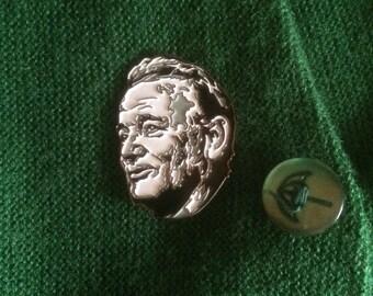 Bill Murray enamel pin