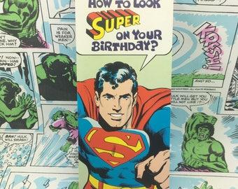 Vintage Superman Birthday