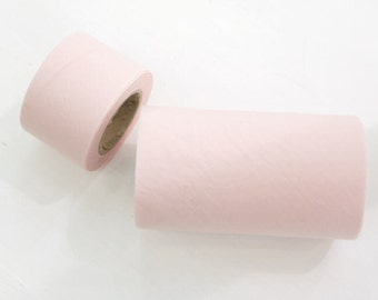 Solid Pink Cotton Bias - 4 cm or 10 cm widths - 10 yards - By the Roll - 81592