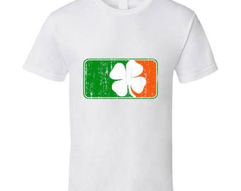 St Patrick's Day Parody Sports Logo Tee Cool St Patty's Funny T Shirt