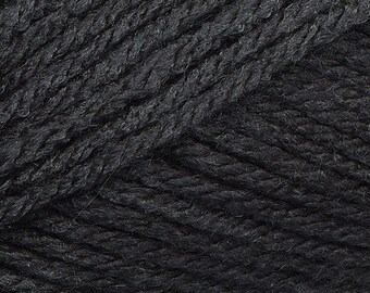 Clearance Charcoal Cascade Anthem Yarn 186 yards 100% Acrylic Color 06