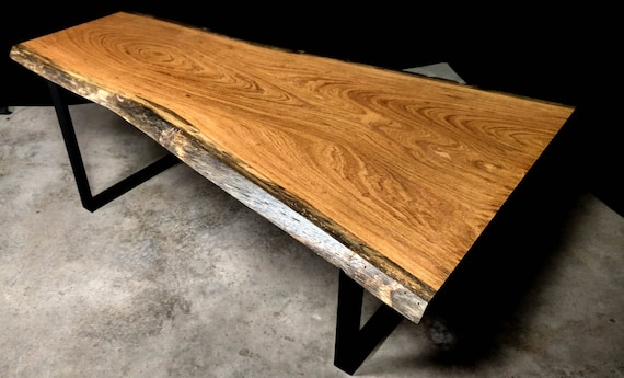 SALE! Live Edge Angelim Pedra Dining Table