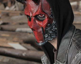 THE DEVIL (Resin Full-Face Devil Mask)
