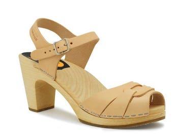 Peep toe super high sandal