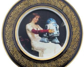 """R2-D2 Renaissance Portrait plaque 11.25"""""""