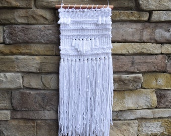White Medium Sized Wall Hanging
