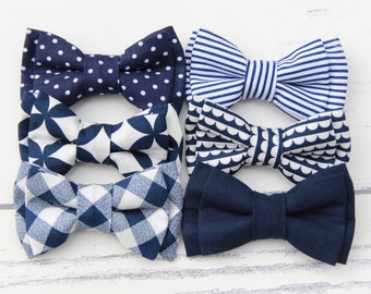 Navy Bowties, Navy Blue Bowtie, Blue Bowtie, Blue Bow Ties, Wedding Bowties, Navy Bow Tie, Navy Ties, Navy Tie, Dark Blue Bow