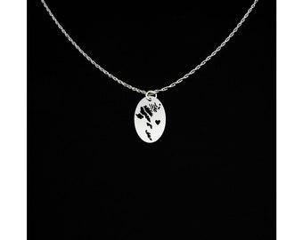 Faroe Islands Necklace - Faroe Islands Jewelry - Faroe Islands Gift