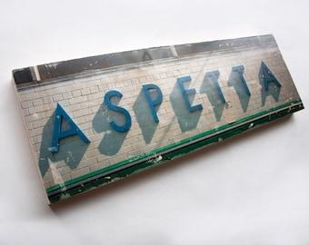 "Aspetta - Limited Edition Fine Art Photo Transfer on 10""x30"" Wood Panel by Patrick Lajoie"