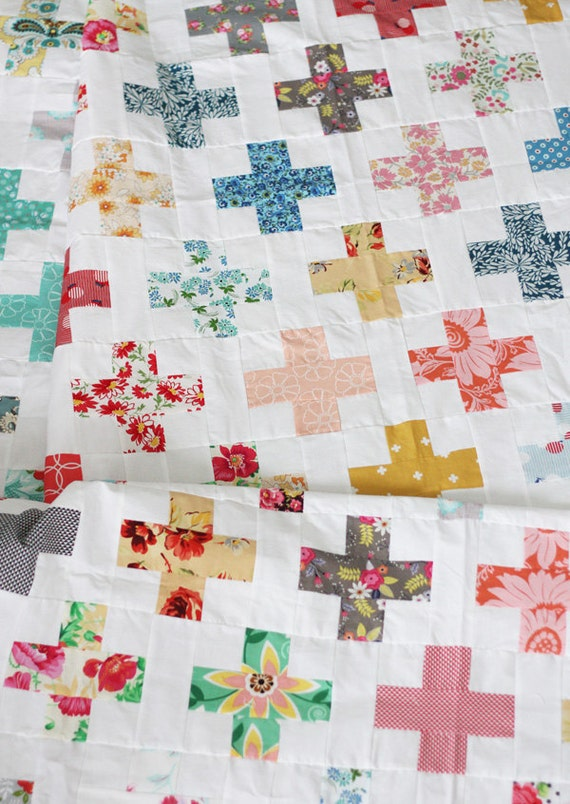 Simple Addition Quilt Pattern Allison Harris Of Cluck