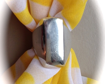 Solid Sterling Silver Ring (Available sizes 6, 7.5)