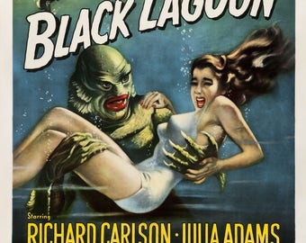 """Creature from the Black Lagoon 36""""x24"""""""