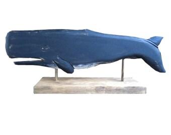 Whales - Black Sperm Whale, Desktop Series
