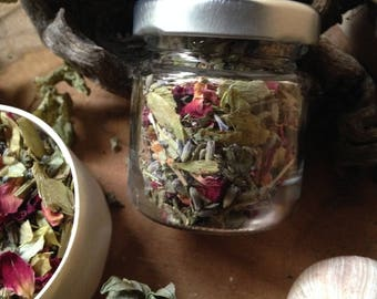 Dreamtime Smoking Mix/incense/shamanism/rest/wellbeing/Herbal Magic