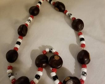 Buckeye Necklace