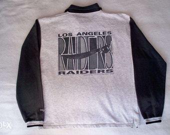 Los Angeles Raiders jacket, Oakland Raiders shirt vintage officially licensed NFL jacket NWA hip hop jacket, 90s old school hip-hop clothing