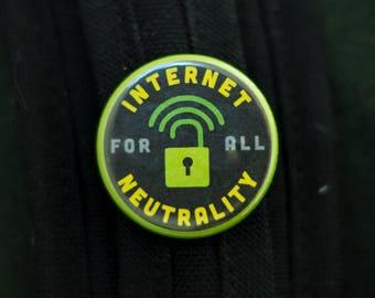 Net Neutrality button pack