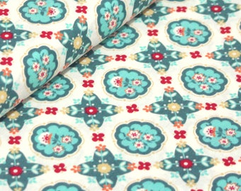 Domestic Bliss by Liz Scott for Moda Fabrics, 18072-17 Kitchenette Cream