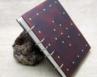 Handmade Leather Journal Diary Notebook Medieval  A5