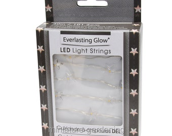 LED Star Light String, 40 inch for Miniature Garden, Fairy Garden