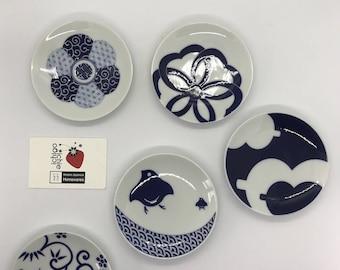 Kihara Small Serving Plates - Arita Porcelain