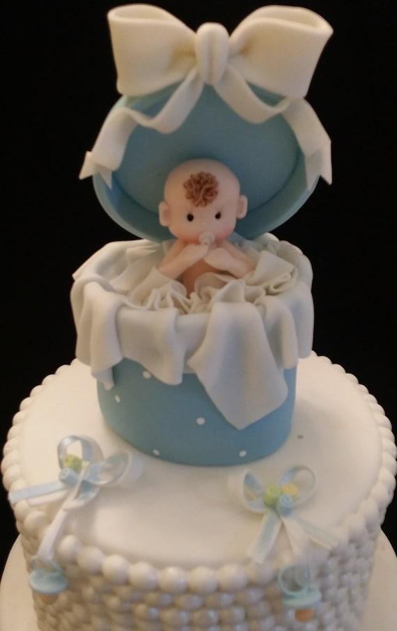 Baby Boy Cake Topper Baby Cake Topper Baby Shower Cake Topper