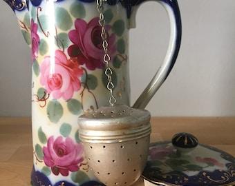 Vintage Metal Acorn Tea Infuser