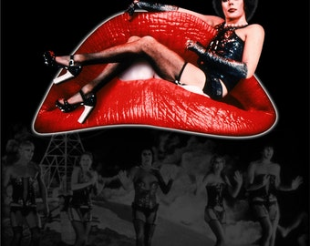 FREE SHIPPING Rocky Horror Picture Show poster 11x17