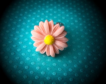 Adjustable Daisy Ring