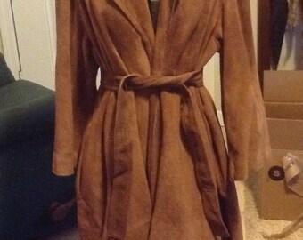 Very Retro Ero Leather Coat