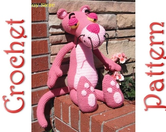 Big Pink Panther a Crochet Pattern by Erin Scull