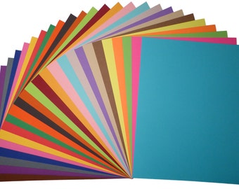 Premium Cardstock Paper - FREE US SHIPPING - 65 lb 8.5 x 11 in. - Perfect for Scrapbooking, Cardmaking, & more! - Pick color and quantity!