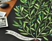 LAUREL Family Tree, 4 generations - PERSONALIZED - 13 X 19