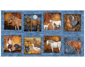 """Bountiful 24"""" x 45"""" Panel from Quilting Treasures by the panel"""