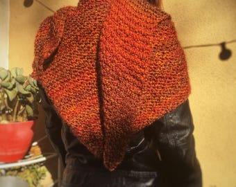 Need Hygge giant triangle shawl color Sunset
