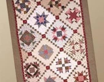 Primitive Folk Art Quilt Pattern - Charity Rose 6 Quilt Pattern