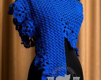 Crochet Triangle Crochet Shawl Pattern, Crochet Stole Pattern, Crochet Stole Pattern, Crochet Shawl Pattern, Instant Download /1008/