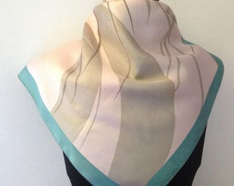 vintage scarf, silk from Lyon